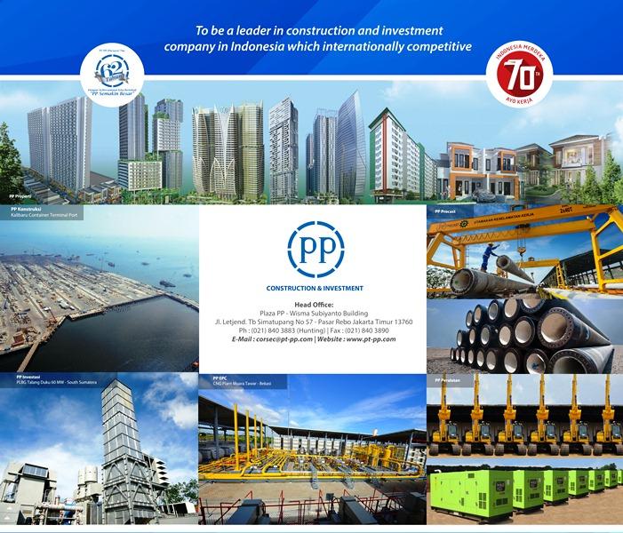Desain Poster Booth PT PP (Persero) Tbk