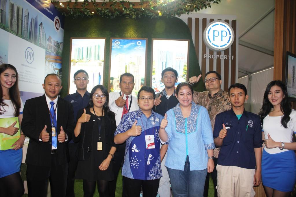 Tim PT PP (Persero) Tbk - Pameran Indonesia Hebat 2015