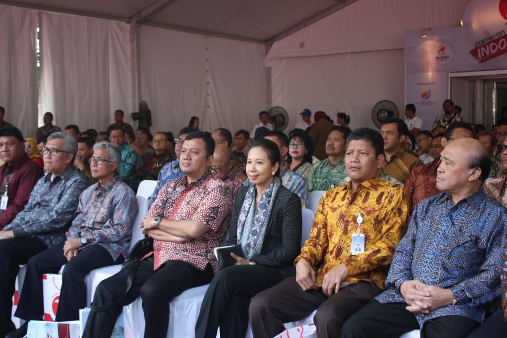 Tamu VIP pada Pembukaan Pameran Indonesia Hebat 2015