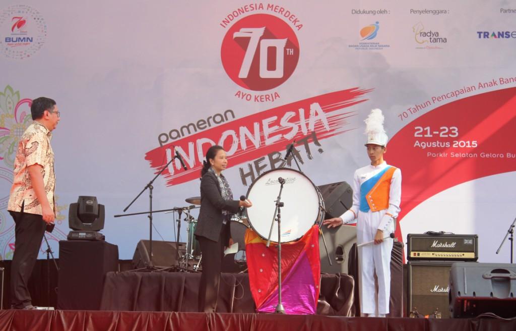 Pembukaan Simbolis Pameran Indonesia Hebat - Menteri BUMN