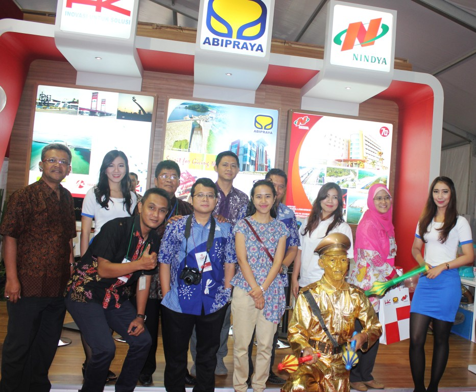Semangat Juara Tim Marketing Communication BUMN Karya