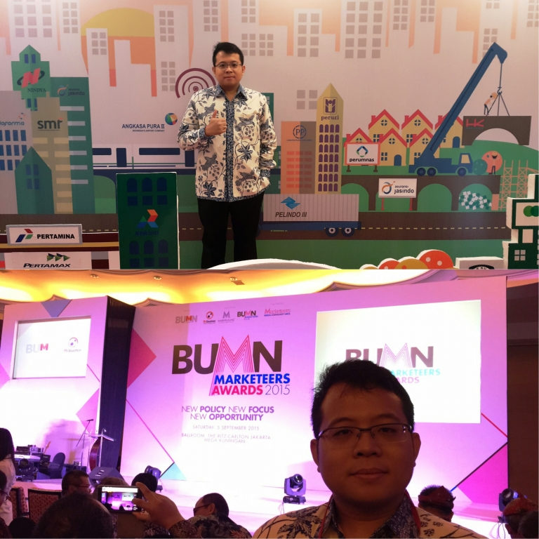 Cempluk #BUMN-Marketeers-Awards-2015