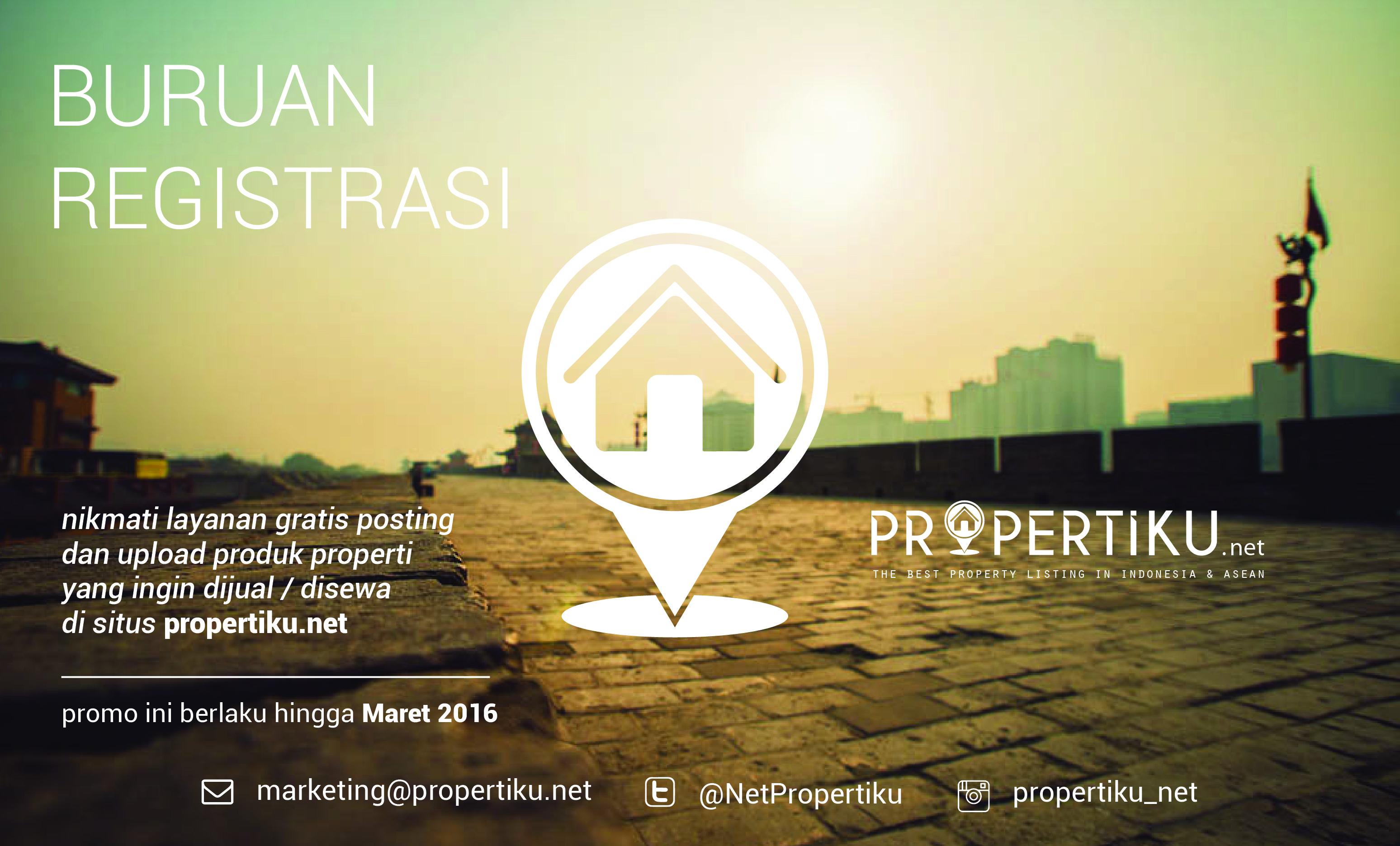Propertiku.Net - Situs Properti Nomor 1 di Indonesia & ASEAN