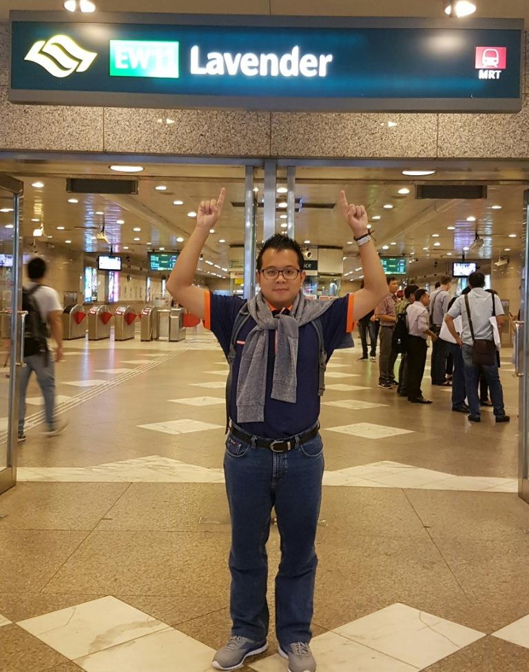 Stasiun MRT | LRT Lavender Singapore