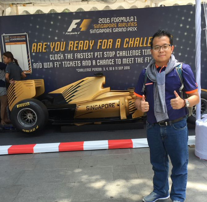 F1 Singapore #MengejarMerlion