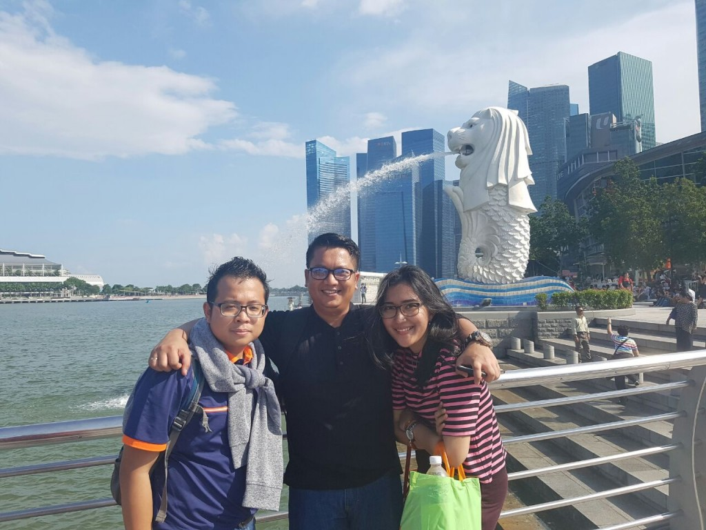Liburan Singapura - Merlion