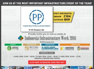 Indonesia infrasctructure Week 2016