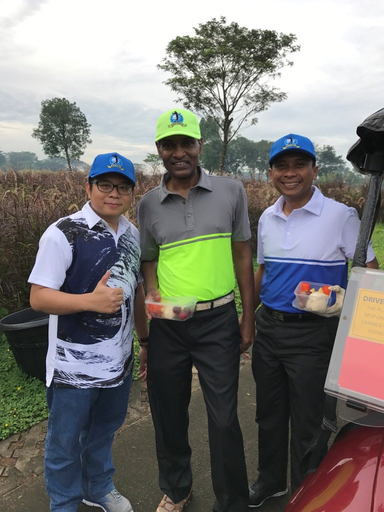 bersama peserta golf tournament IKA UNS 2017