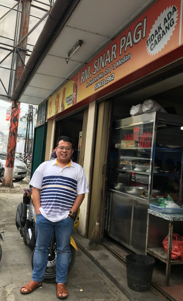 Soto Medan di RM Sinar Pagi