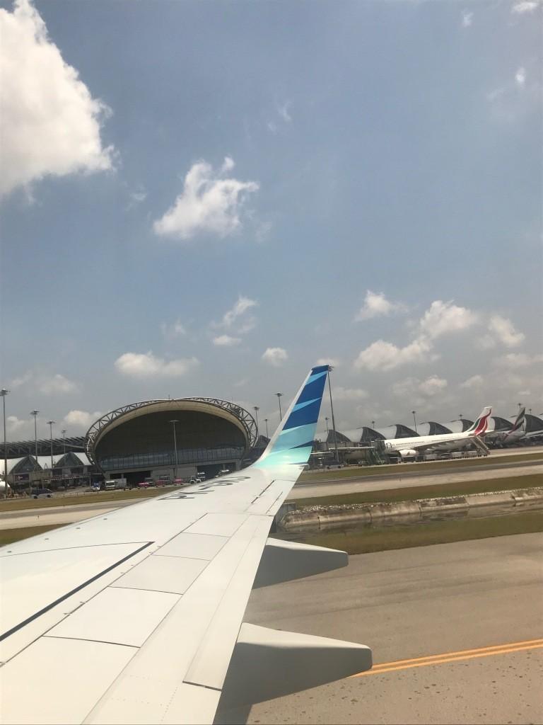 Landing @ Bandara Int.Swarnabhumi (BKK)