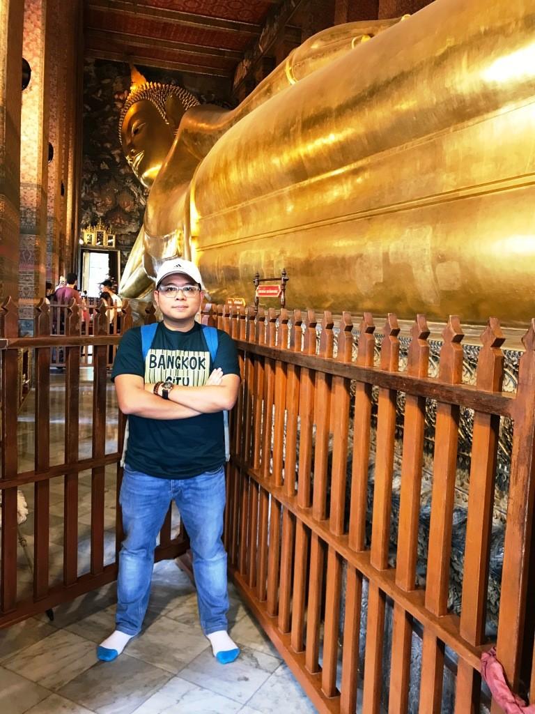 Buddha Berbaring @ Wat Pho