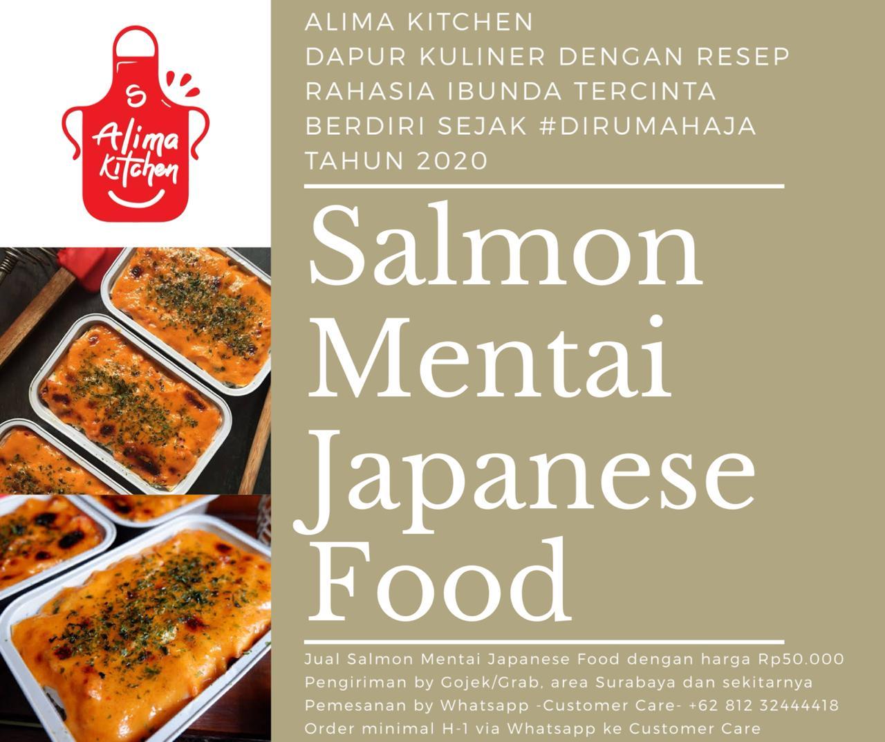 Salmon Mentai by Alima Kitchen