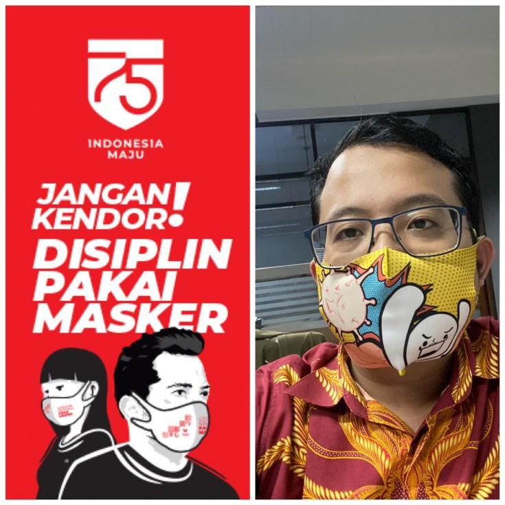 Disiplin pakai masker